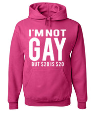 I'm Not Gay But $20 Is $20 Hoodie Funny Sweatshirt - Tee Hunt - 8
