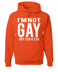 I'm Not Gay But $20 Is $20 Hoodie Funny Sweatshirt - Tee Hunt - 4
