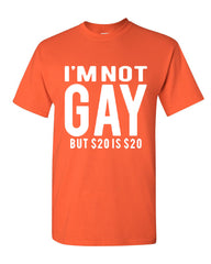 I'm Not Gay But $20 Is $20 T-Shirt Funny Tee Shirt - Tee Hunt - 7