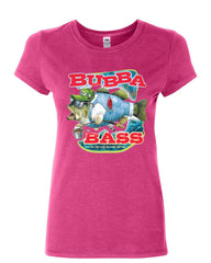 Bubba Bass Cotton T-Shirt Funny Fishing - Tee Hunt - 6