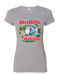 Bubba Bass Cotton T-Shirt Funny Fishing - Tee Hunt - 7