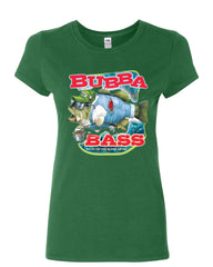 Bubba Bass Cotton T-Shirt Funny Fishing - Tee Hunt - 10
