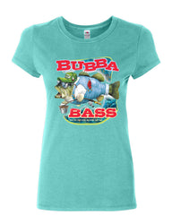 Bubba Bass Cotton T-Shirt Funny Fishing - Tee Hunt - 5