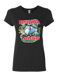 Bubba Bass Cotton T-Shirt Funny Fishing - Tee Hunt - 2