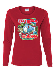 Bubba Bass Long Sleeve T-Shirt Funny Fishing - Tee Hunt - 6