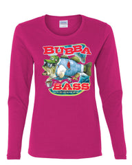 Bubba Bass Long Sleeve T-Shirt Funny Fishing - Tee Hunt - 8
