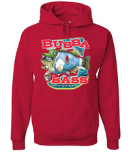 Bubba Bass Hoodie Funny Fishing Sweatshirt