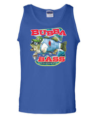 Bubba Bass Tank Top Funny Fishing