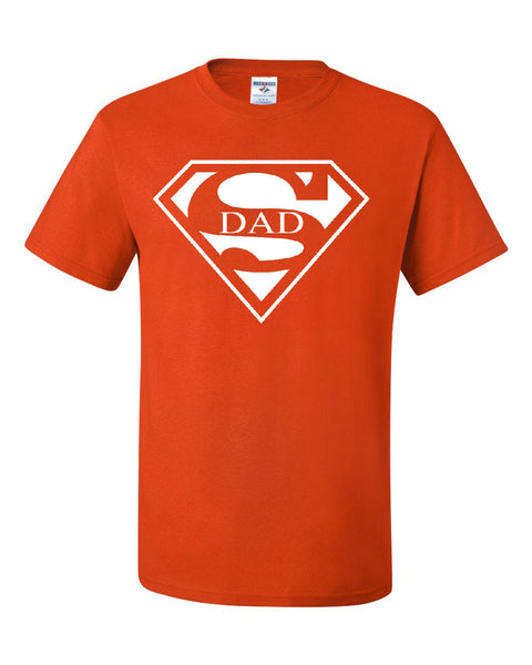 a55d44fe Super Dad T-Shirt Funny Superhero Father's Day Tee Shirt