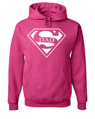 Super Dad Hoodie Funny Superhero Father's Day Sweatshirt