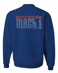 Licensed Ford Mustang Mach 1 Crew Neck Sweatshirt 50th Anniversary - Tee Hunt - 4