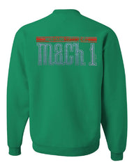 Licensed Ford Mustang Mach 1 Crew Neck Sweatshirt 50th Anniversary - Tee Hunt - 3