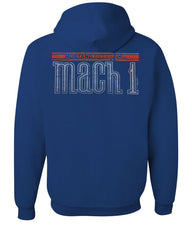 Licensed Ford Mustang Mach 1 Hoodie 50th Anniversary Sweatshirt