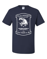 2nd Amendment T-Shirt Guns Don't Cause Crime Tee Shirt - Tee Hunt - 7