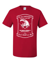2nd Amendment T-Shirt Guns Don't Cause Crime Tee Shirt - Tee Hunt - 5