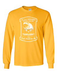 2nd Amendment Long Sleeve T-Shirt Guns Don't Cause Crime - Tee Hunt - 10