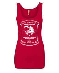 2nd Amendment Women's Tank Top Guns Don't Cause Crime Top - Tee Hunt - 6
