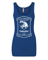 2nd Amendment Women's Tank Top Guns Don't Cause Crime Top - Tee Hunt - 7