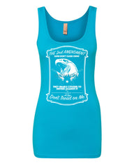 2nd Amendment Women's Tank Top Guns Don't Cause Crime Top - Tee Hunt - 8
