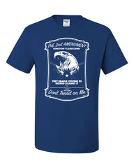 2nd Amendment T-Shirt Guns Don't Cause Crime Tee Shirt - Tee Hunt - 6