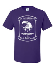 2nd Amendment T-Shirt Guns Don't Cause Crime Tee Shirt - Tee Hunt - 9