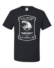 2nd Amendment T-Shirt Guns Don't Cause Crime Tee Shirt - Tee Hunt - 2