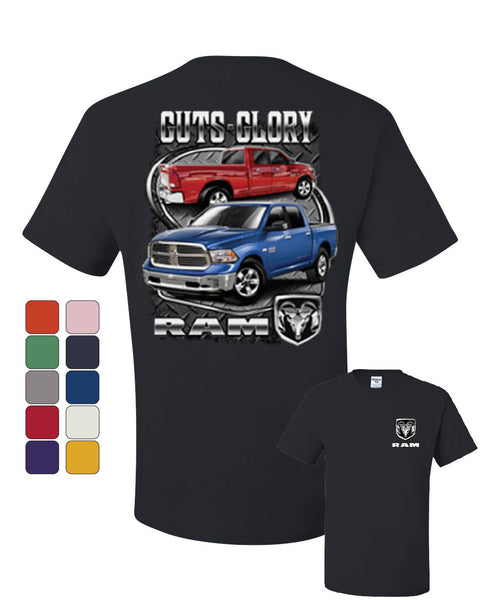 Dodge Ram Guts And Glory T-Shirt Dodge Truck Licensed Tee Shirt - Tee Hunt - 1