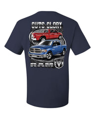 Dodge Ram Guts And Glory T-Shirt Dodge Truck Licensed Tee Shirt - Tee Hunt - 7