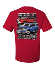Dodge Ram Guts And Glory T-Shirt Dodge Truck Licensed Tee Shirt - Tee Hunt - 5