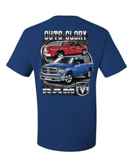 Dodge Ram Guts And Glory T-Shirt Dodge Truck Licensed Tee Shirt - Tee Hunt - 6