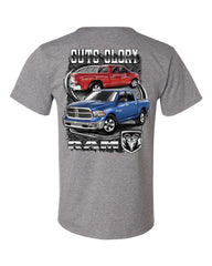 Dodge Ram Guts And Glory T-Shirt Dodge Truck Licensed Tee Shirt - Tee Hunt - 11