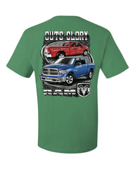 Dodge Ram Guts And Glory T-Shirt Dodge Truck Licensed Tee Shirt - Tee Hunt - 8