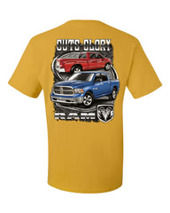 Dodge Ram Guts And Glory T-Shirt Dodge Truck Licensed Tee Shirt - Tee Hunt - 4