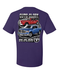 Dodge Ram Guts And Glory T-Shirt Dodge Truck Licensed Tee Shirt - Tee Hunt - 9