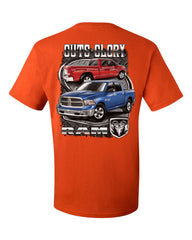 Dodge Ram Guts And Glory T-Shirt Dodge Truck Licensed Tee Shirt - Tee Hunt - 3