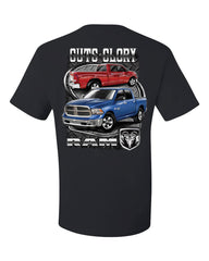Dodge Ram Guts And Glory T-Shirt Dodge Truck Licensed Tee Shirt - Tee Hunt - 2