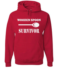 Wooden Spoon Survivor Hoodie Funny College Humor Sweatshirt - Tee Hunt - 5