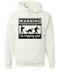 If Zombies Are Chasing Us I'm Tripping You  Hoodie Zombie Apocalypse - Tee Hunt - 6