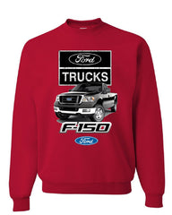 Ford Pickup Trucks F-150 Sweatshirt Offroad Country Built Tough 4X4 Sweater