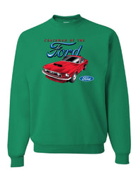 Chairman of the Ford Sweatshirt Mustang American Classic Muscle Car Sweater