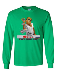 A Pinch of the Wall Long Sleeve T-Shirt Trump Salt Bae Immigration Mexico Tee