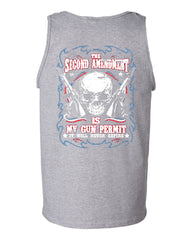 2nd Amendment Is My Gun Permit Tank Top Gun Rights - Tee Hunt - 4