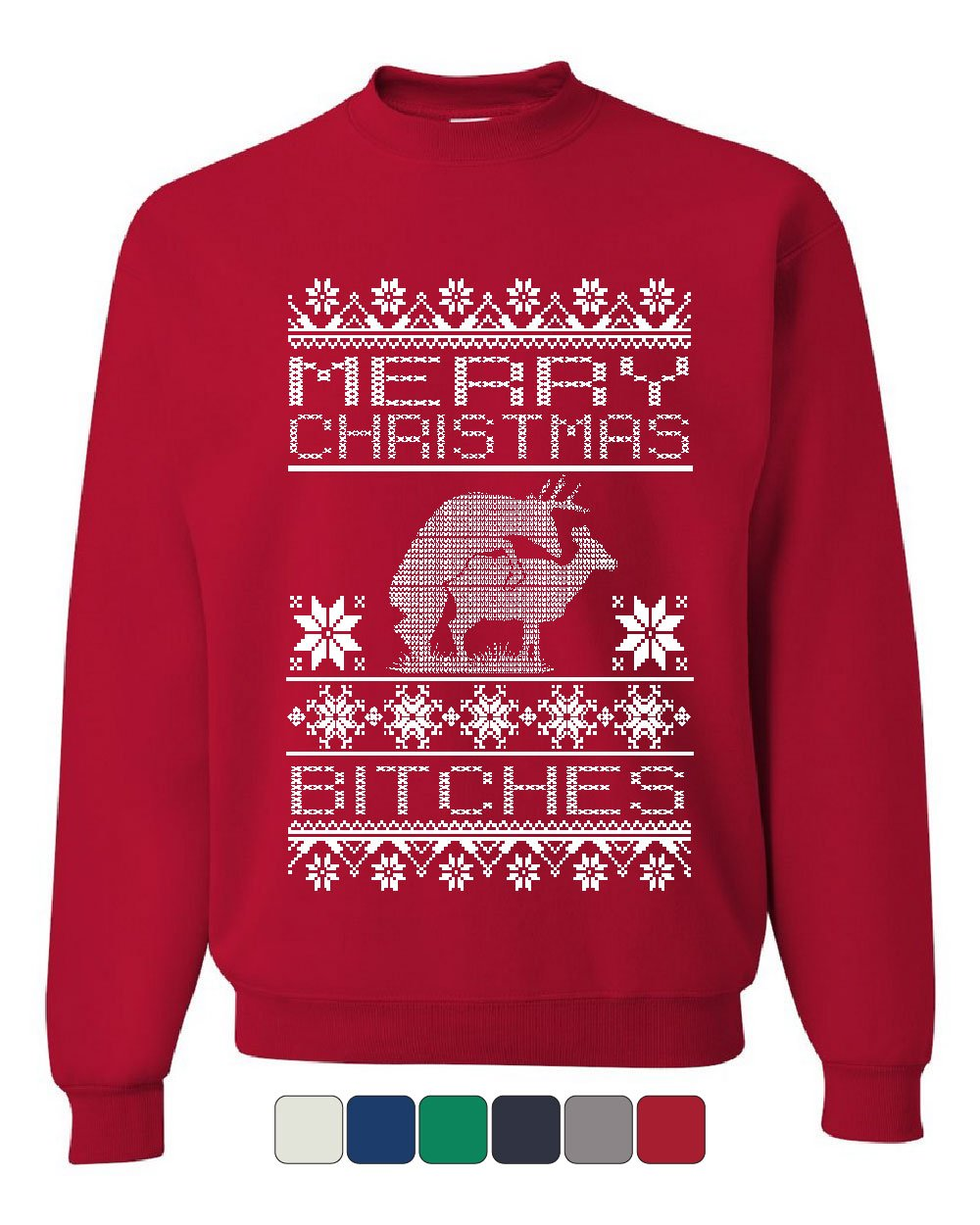 a87c79ebe Muscle Shirts +. All · Login · Create account · Home — Merry Christmas  Bitches Sweatshirt Deer Humping Ugly Sweatshirt Sweater. Product Image ...