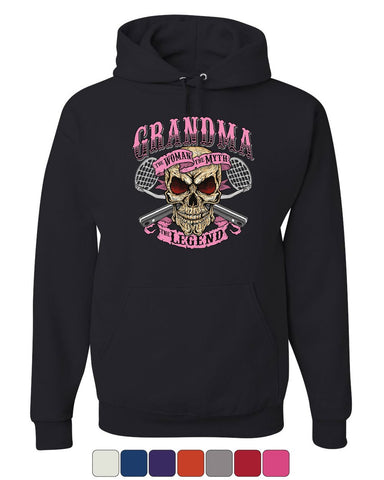 Grandma The Myth The Legend Hoodie Funny Granny Mother's Day Sweatshirt
