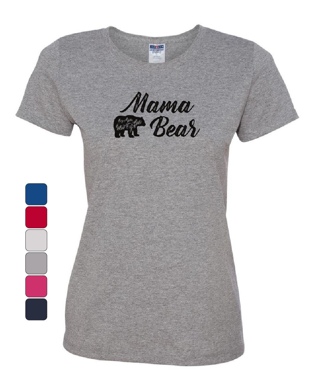 64fbe1906af Product Image Mama Bear Women s T-Shirt Mom Mother s Day Family Cute  Camping Tourism Tee