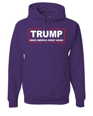 TRUMP Hoodie Make America Great Again Sweatshirt - Tee Hunt - 3