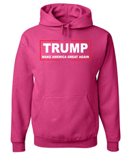 TRUMP Hoodie Make America Great Again Sweatshirt - Tee Hunt - 8