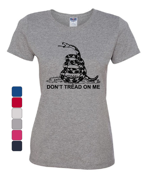 Don't Tread On Me T-Shirt Gadsden Flag Political Patriot - Tee Hunt - 1