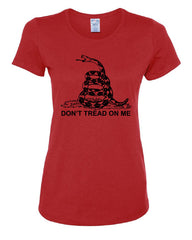 Don't Tread On Me T-Shirt Gadsden Flag Political Patriot - Tee Hunt - 2