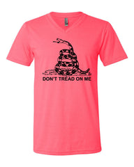 Don't Tread On Me V-Neck T-Shirt - Tee Hunt - 5